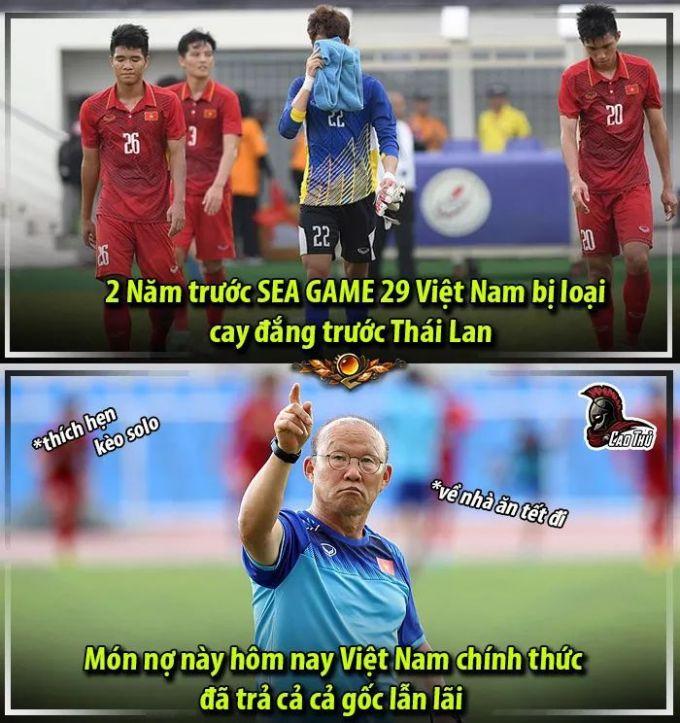 <p> Việt Nam đã loại đương kim vô địch Thái Lan ngay từ vòng bảng.</p>