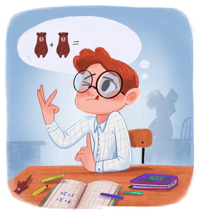 <p> Là khi bạn bắt đầu học tính nhầm, không máy tính, những phép tính được tạo ra bằng cách cộng đếm ngón tay.</p>