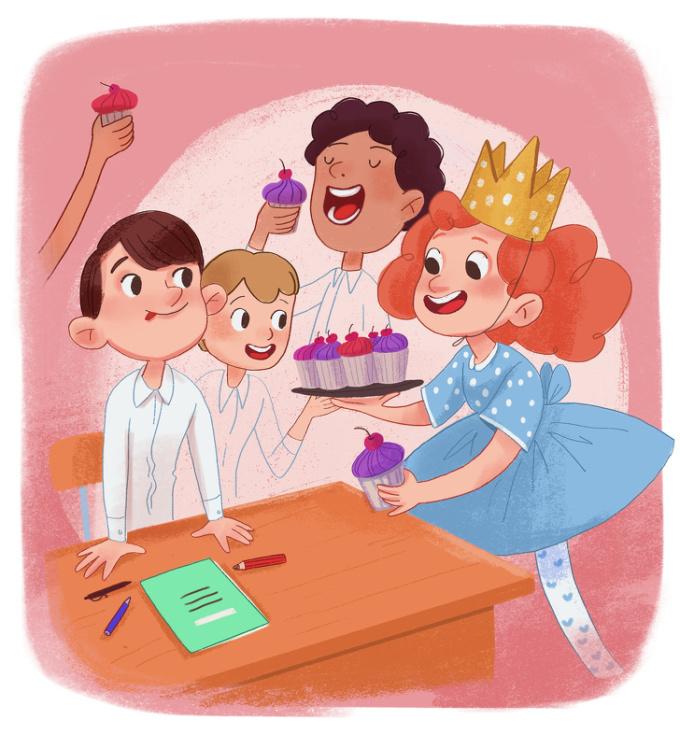 <p> Rồi cả những bữa tiệc sinh nhật đầy tiếng cười ngay tại lớp. Ngày ấy vui vẻ, hồn nhiên lắm. Vài cái bánh, một bài hát chúc mừng vang lên, thế là đủ.</p>