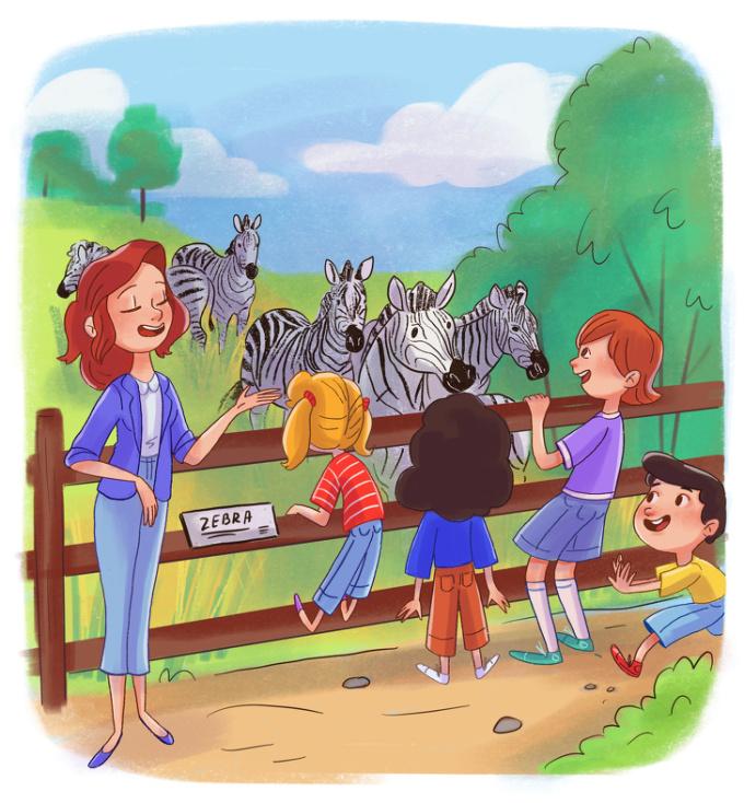 <p> Rồi không thiếu những lần được cô giáo dẫn đi dã ngoại, niềm vui chỉ đơn giản như vậy.</p>