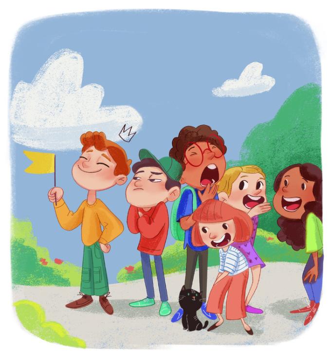<p> Cảm giác sung sướng, phấn khích khi được cô giáo giao nhiệm vụ chỉ huy nhóm. Lần đầu tiên làm trưởng nhóm, cảm giác kỳ lạ ghê!</p>