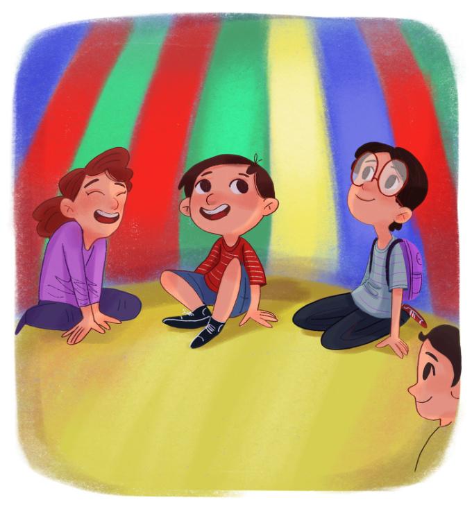 <p> Và chẳng thiếu những lần trốn học cùng lũ bạn để đến công viên giải trí.</p>