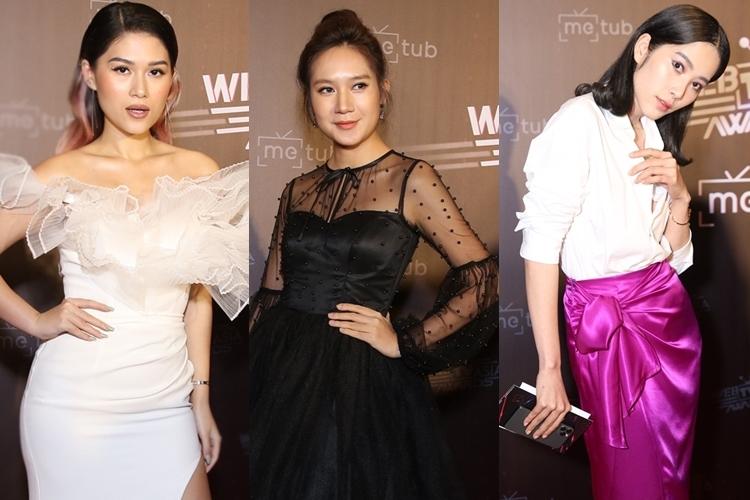 Ngọc Thanh Tâm, Minh Hà, Nam Em (từ trái qua).