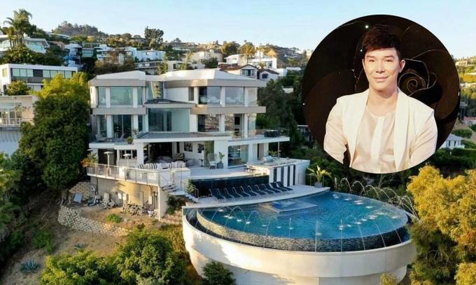 Villa 25 triệu USD tại Mỹ của Nathan Lee