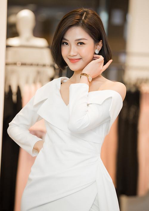 Cũng trong event, Bình An có dịp tái ngộ với 'người tình màn ảnh' Lương Thanh của phim 'Những cô gái trong thành phố'.