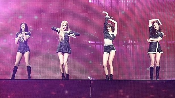 Black Pink tại concert In Your Area ngày 4/12.