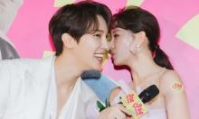 Vắng Trấn Thành, Hari Won tình tứ bên trai Hàn