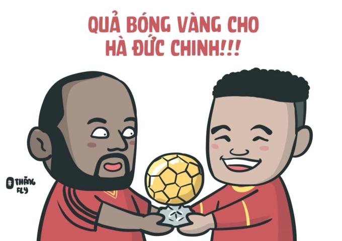 <p> Hà Đức Chinh đã ghi tổng cộng 7 bàn cho U22 Việt Nam tại SEA Games.</p>