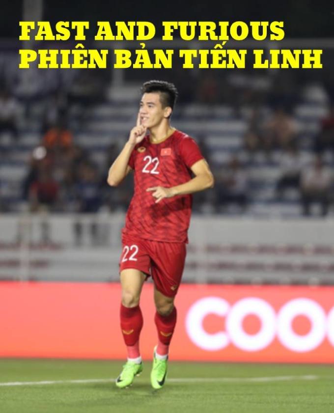 <p> 19h ngày 7/12, Việt Nam gặp Campuchia ở bán kết SEA Games 30. Tiếng còi báo hiệu trận bắt đầu chưa bao lâu, từ quả tạt bên cánh phải của Đức Chinh, Tiến Linh bật cao rồi đánh đầu góc xa vào lưới thủ môn Campuchia.</p>