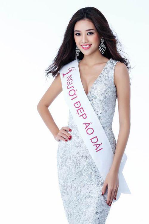 Chung cuộc, Khánh Vân lọt vào Top 10 và giành giải thưởng phụ Người đẹp Áo dài.