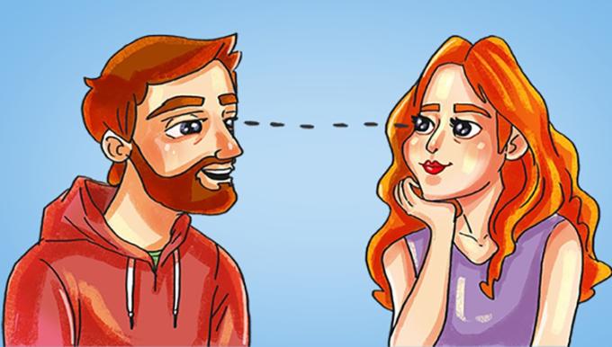 <p> <strong>20. Giao tiếp bằng mắt</strong><br /> Đôi mắt là cửa sổ tâm hồn và cũng là cách tuyệt vời để giao tiếp. Bạn có thể đọc tất cả cảm xúc của một người trong mắt họ. Những người yêu nhau nhìn nhau sẽ cảm nhận sức hấp dẫn và tâm lý thú vị.<br /> Ngoài tình yêu, thông qua ánh mắt, bạn có thể biết một người đang vui vẻ hay đang giận dữ.</p>