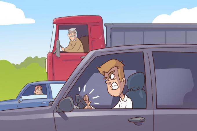<p> Không quan tâm đến tình trạng tắc đường, kẹt xe, nhiều người vẫn có thói quen bấm còi dù chẳng thể nhúc nhích!</p>