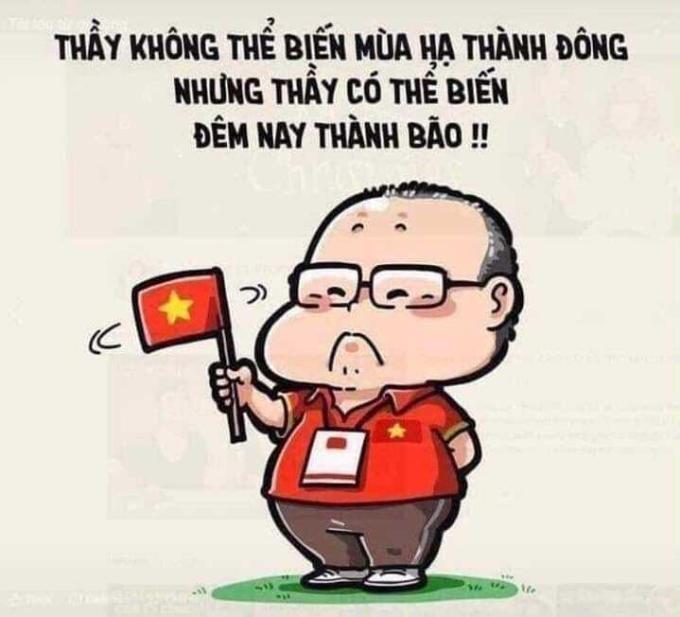 """<p> Thầy đã mang """"cơn bão"""" vàng đến với Việt Nam.</p>"""