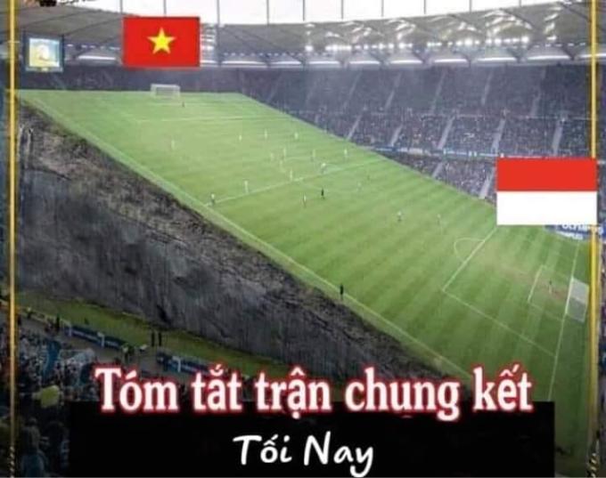 <p> Thế trận cuộc chung kết SEA Games với hiệp 1 nghiêng về U22 Việt Nam.</p>