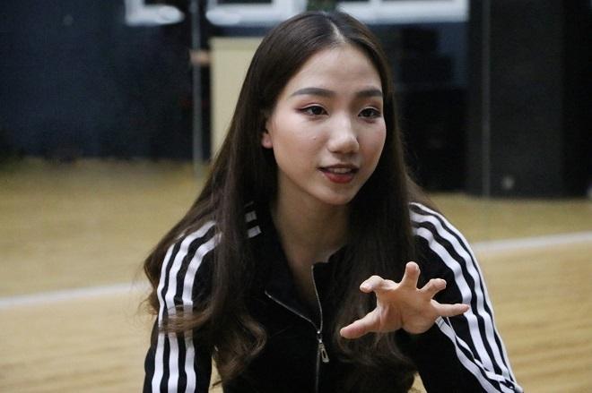 Khánh Linh hi vọng The Heat - Đại học Thăng Long sẽ giữ vững phong độ.