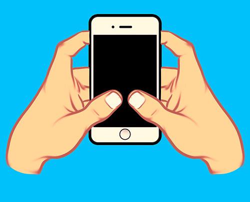 Cách cầm điện thoại nói lên tính cách của bạn - 3