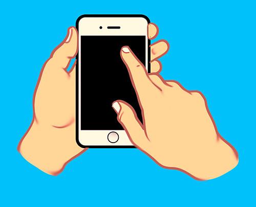 Cách cầm điện thoại nói lên tính cách của bạn - 4