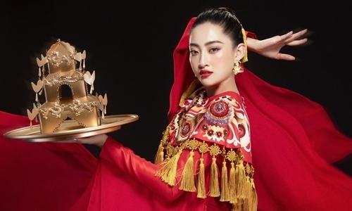 Lương Thùy Linh múa mâm ở chung kết Miss World