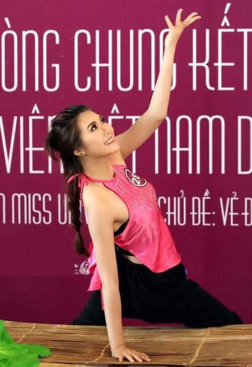 Được đánh giá khá cao vì vẻ đẹp trong trẻo nhưng Tường Linh không đạt thành tích cao trong cuộc thi này.