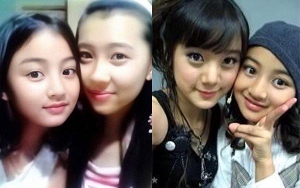 Ji Hyo chụp hình cùng Sun Mi và Hye Lim (Wonder Girls).