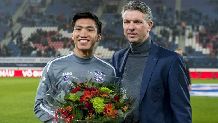 Văn Hậu được SC Heerenveen vinh danh sau khi giành HC vàng SEA Games.
