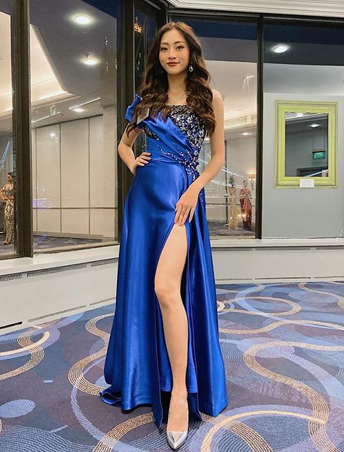 Đến London muộn và bỏ lỡ phần thi Dance of the world, Lương Thùy Linh vẫn được chọn vào vòng trong của phần thi Top Model. Vượt qua 70 thí sinh nặng ký, đại diện Việt Nam được xướng tên trong top 10. Cô cũng là người đẹp Đông Nam Á duy nhất lọt vào bảng xếp hạng này.