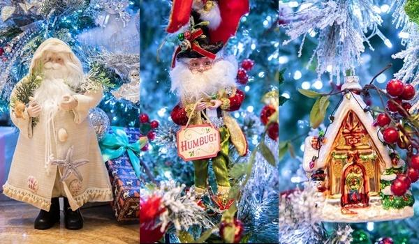 Người tuyết, ông già Noel được Đàm Vĩnh Hưng dùngđể trang trí cho căn hộ. Anh cho biết sẽ mở cửa tự do để khách tham gia, chụp hình lưu niệm từ ngày 12/12 đến hết Tết Dương lịch.