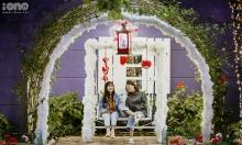 Khu vườn Giáng sinh như ở trời Âu của Đại học Thăng Long