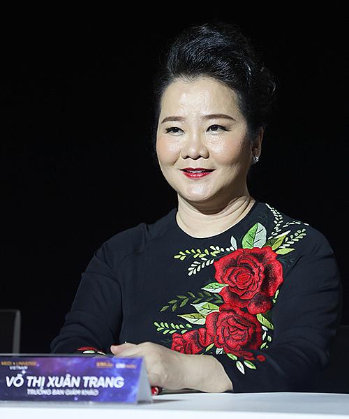 Bà Võ Thị Xuân Trang.