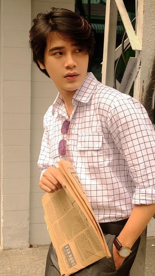 Hot boy đóng vai Sở Khanh trong Mắt biếc