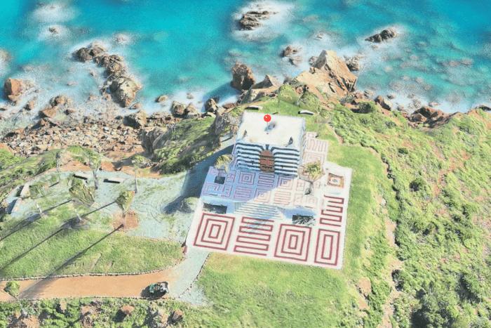 Đảo ấu dâm của Epstein ở Little St. James, vùng biển Caribbean.