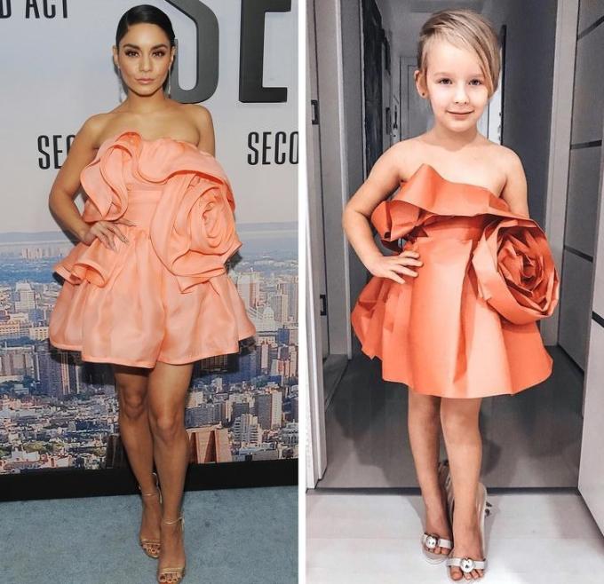 <p> Vanessa Hudgens,Lady Gaga,Rihanna,Taylor Swift,Beyoncé,... đều là những sao nữ được cô bé yêu thích và lựa chọn hóa trang. Những hình ảnh của cô bé 6 tuổi được nhiều người yêu thích và chia sẻ rầm rộ.</p>