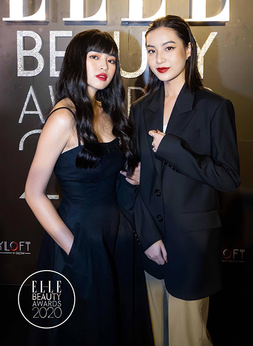 Ngoài Trúc Anh, hai bạn diễn là Khánh Vân và Thảo Tâm gần đây cũng thử nghiệm trang điểm cá tính và gây ấn tượng với khán giả.