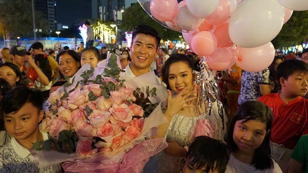 Duy Mạnh - Quỳnh Anh: Chuyện tình đẹp ở làng bóng đá
