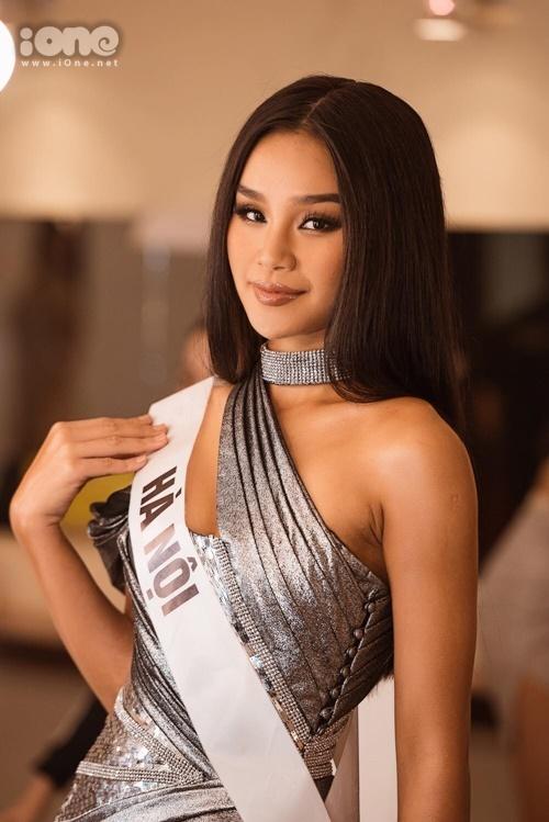 Thu Trang cao 1,75 m, sở hữu số đo 88-63-96 cm.Cô là một trong những nhan sắc nổi bật nhất Miss Universe năm nay.
