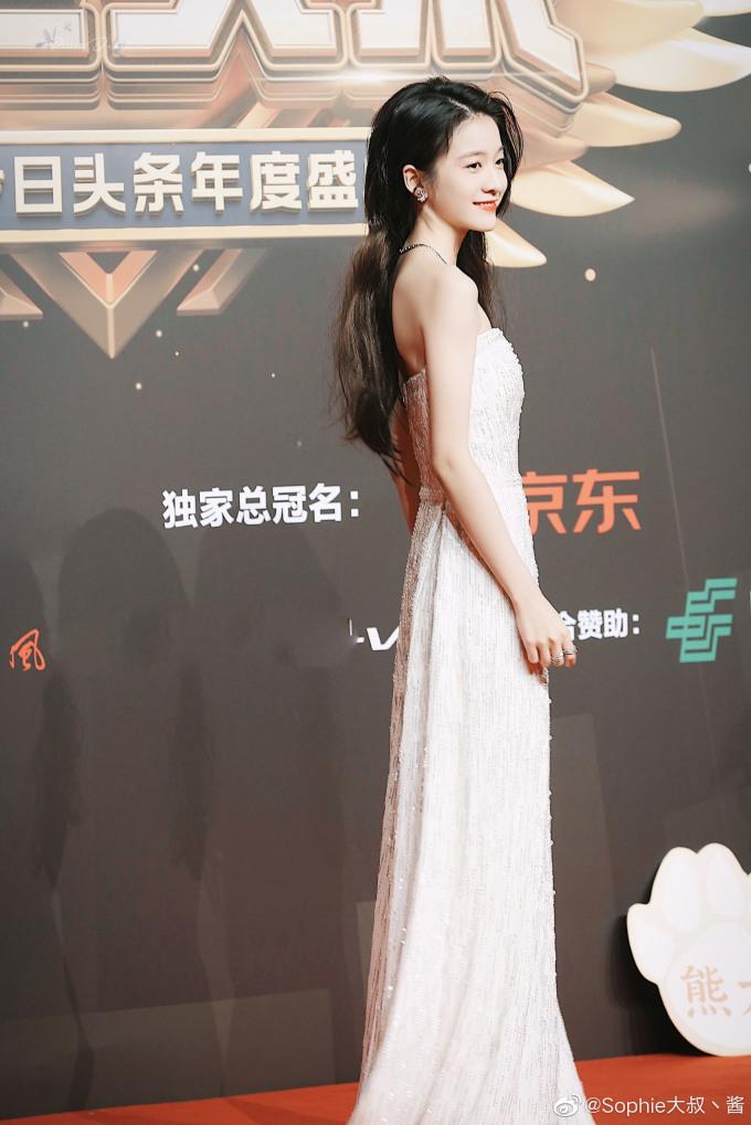 <p> Trương Tuyết Nghênh khiến fan lo lắng vì thân hình quá gầy.</p>