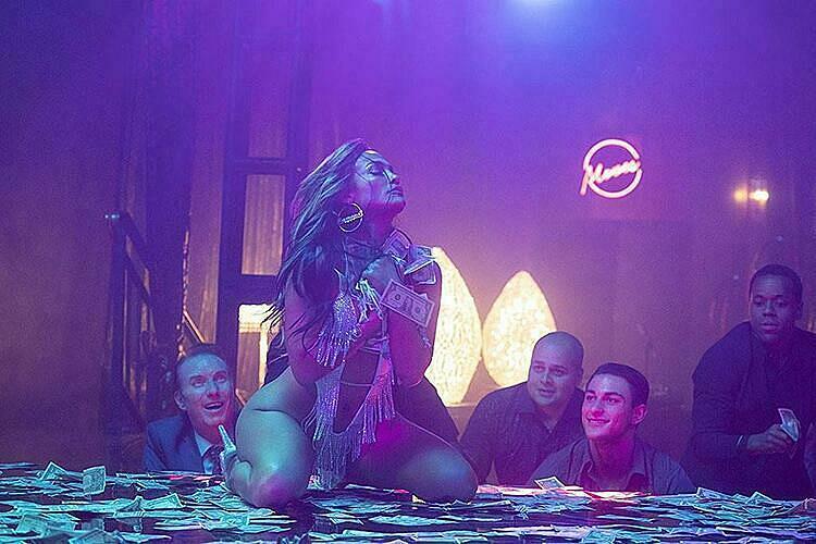 Cảnh trong phim của Jennifer Lopez.