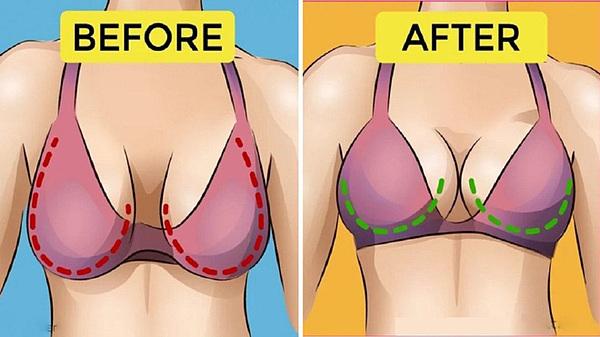 9 lý do khiến ngực bị chảy xệ