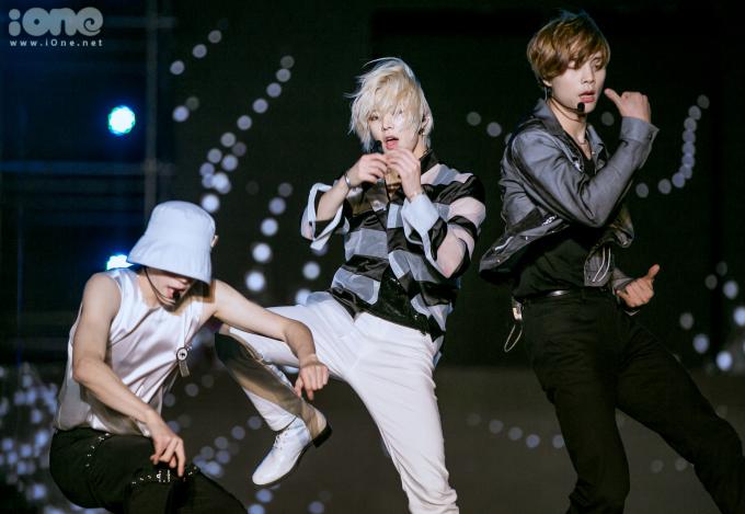 <p> Tae Yong, Yuta và Johnny.</p>