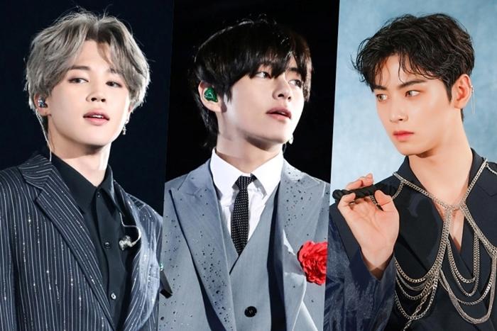 Ji Min, V và Cha Eun Woo là 3 tên tuổi có điểm cao nhất BXH thương hiệu tháng 1.