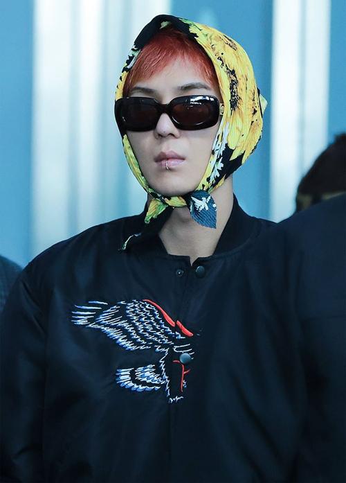 Trong show Tân Tây Du Kí 7, Mino đã từng lo ngại hình ảnh của mình quá đơn giản nên cần khăn trùm đầu bà ngoại để làm nổi bật vẻ ngoài.