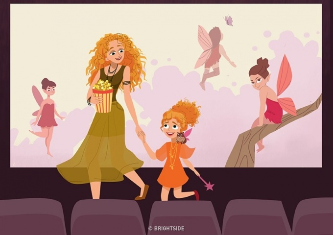 """<p> Cô gái nhỏ, con có biết, con là """"cô bạn nhỏ"""" đáng yêu, dễ thương nhất mà mẹ có được.</p>"""