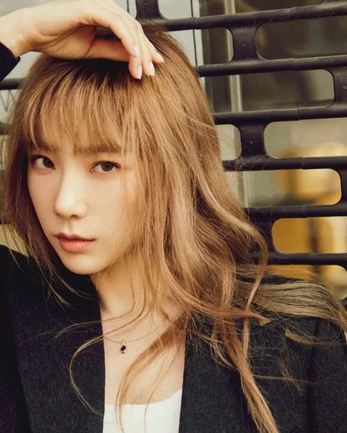 Tae Yeon khiến fan trầm trồ với nhan sắc đỉnh cao trong loạt ảnh quảng bá album  Purpose phiên bản repackage.