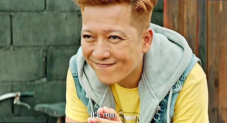Tạo hình của diễn viên Trường Giang trong phim.