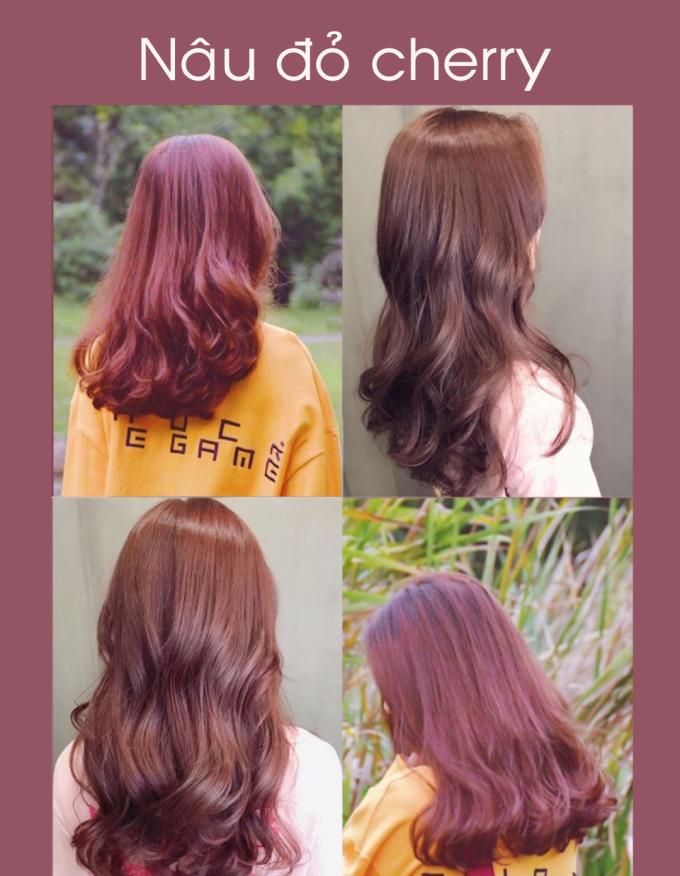 <p> Để có diện mạo nổi bật khi đón Tết, nhiều cô nàng chuộng nhuộm tóc đỏ. Nếu muốn da mặt không bị tái, gam màu gợi ý năm nay là đỏ hồng, pha sắc nâu giúp tóc óng ánh dưới ánh nắng.</p>
