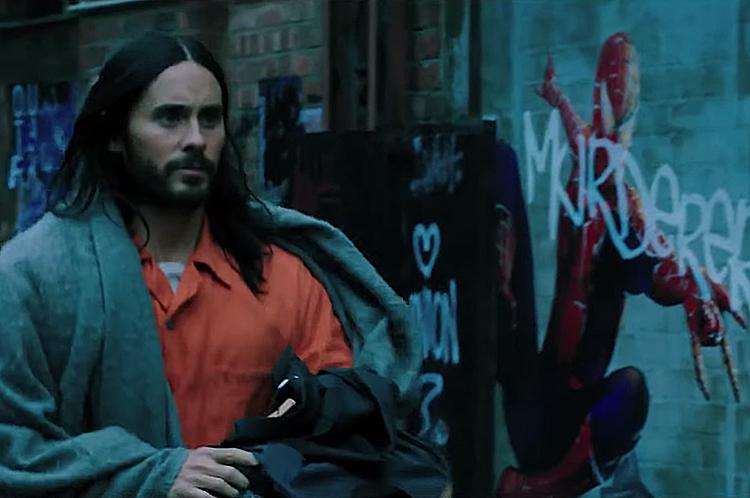 Hình ảnh Người Nhện thoáng xuất hiện trong trailer.