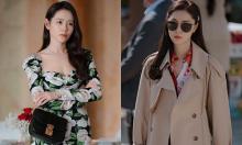 Phong cách 'con nhà giàu' khác biệt của hai mỹ nhân 'Hạ cánh nơi anh'