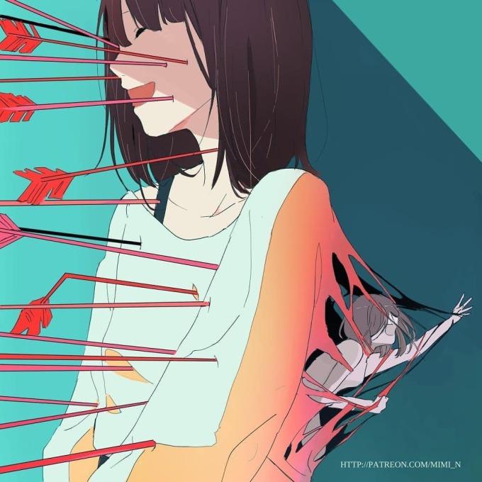 <p> Dù trong tâm có đau khổ nhường nào, chúng ta vẫn phải cười với những kẻ làm tổn thương ta.</p>
