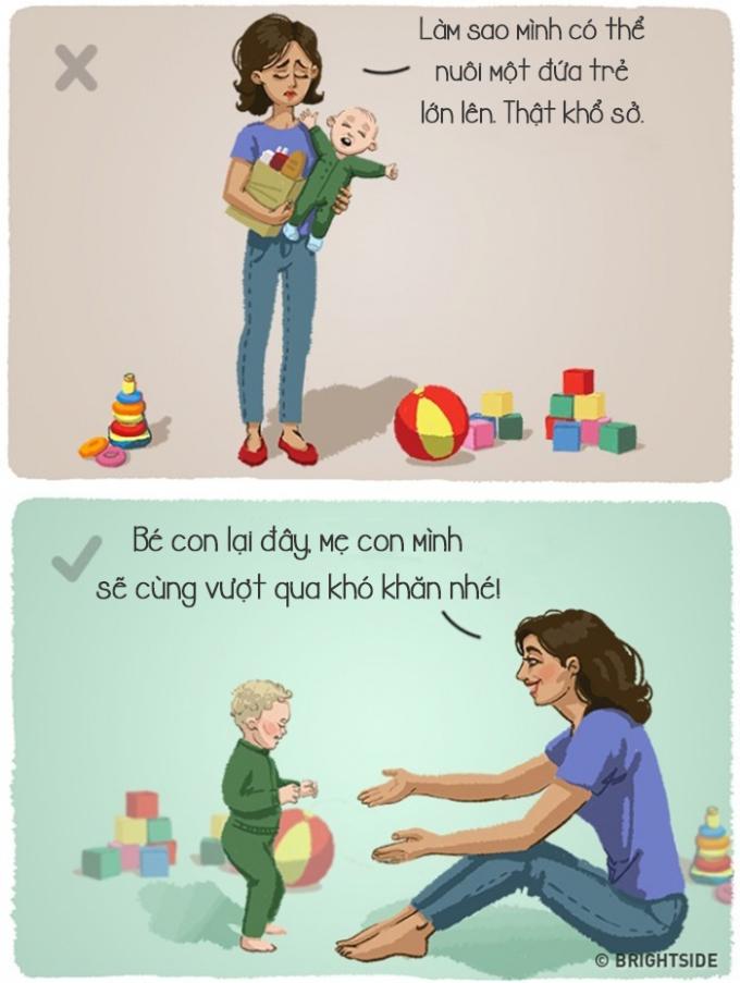 <p> Đừng bàn lùi, lo sợ khi phải chăm sóc con trẻ, bạn sẽ nhận ra mình có thêm nhiều niềm vui và hạnh phúc.</p>