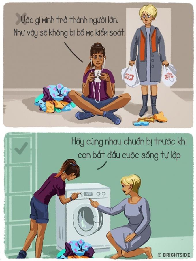 <p> Đừng mong nhanh lớn để rời xa vòng tay bố mẹ vì khi lớn rồi, bạn mới biết: gia đình luôn là điều tuyệt vời nhất.</p>